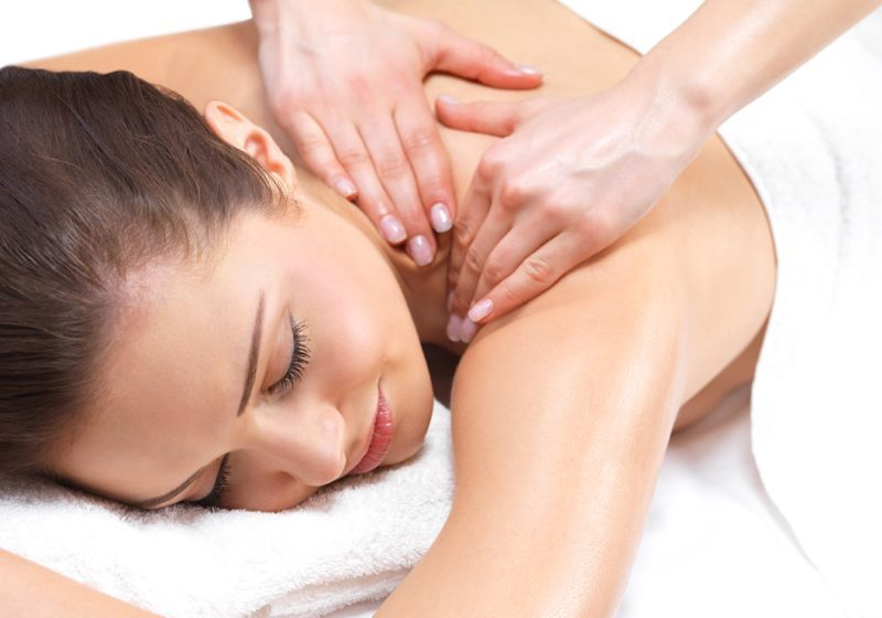 Aromatherapy Back Massage